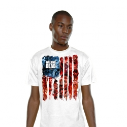 T SHIRT Walker-Flag - The walking dead