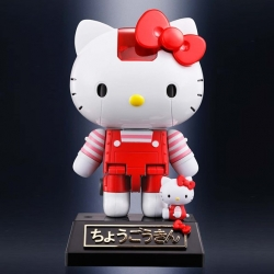 Hello Kitty Red Stripe Chogokin - Figurine Bandai