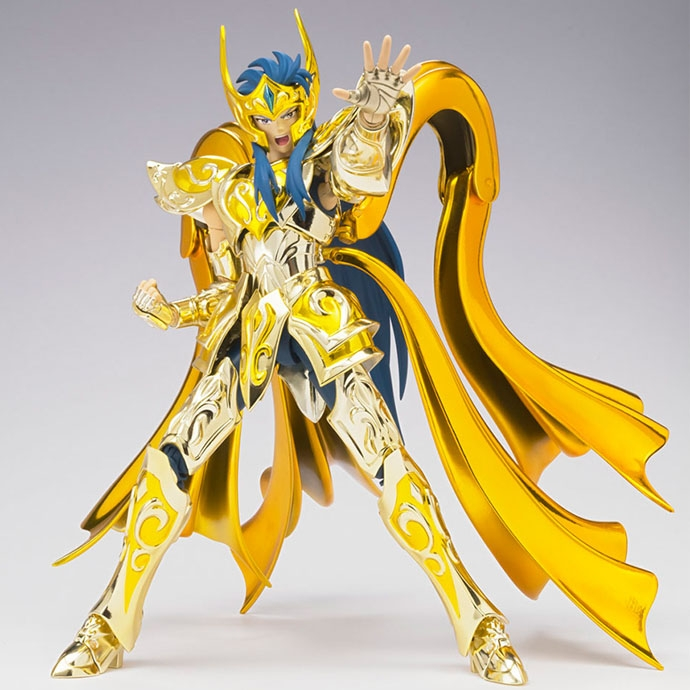 Saint Seiya Aquarius Camus Soul of Gold - Myth Cloth EX