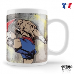 MUG STREET FIGHTER CHUN-LI FIGHT SAGAT