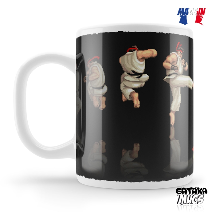 MUG STREET FIGHTER RYU SEQUENCE