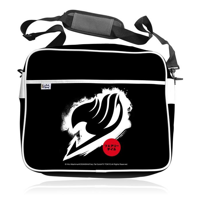 Sac Fairy Tail - Logo Blanc