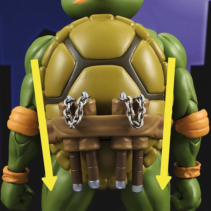Figurine tortues ninja michelangelo s h figuarts - Michaelangelo tortue ninja ...