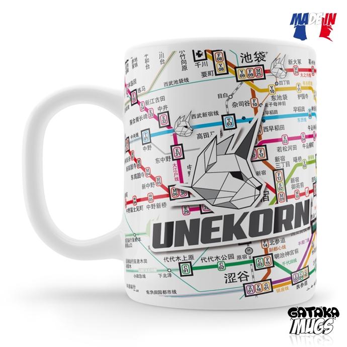 Mug Unekorn Tokyo Lines