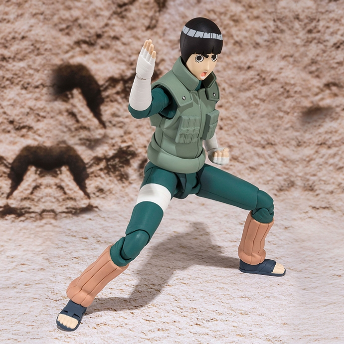 Rock Lee Naruto - S.H. Figuarts Bandai