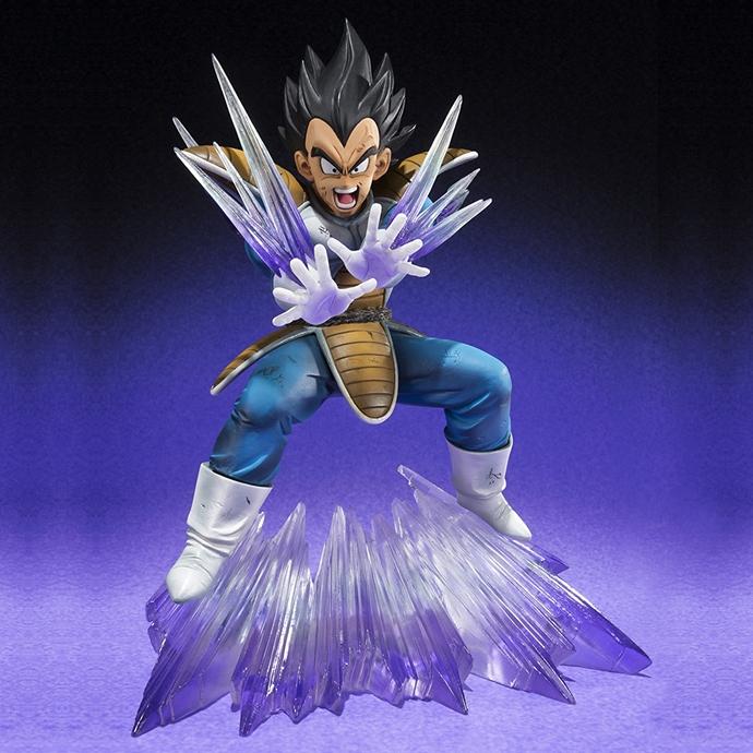 Figurine Dragon Ball Z Vegeta Galik Gun - Figuarts Zero Bandai