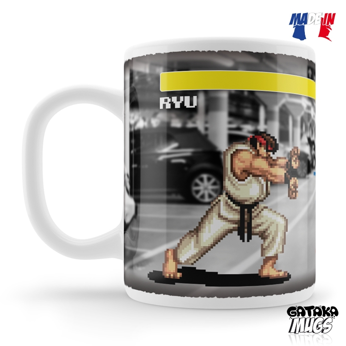 "Mug Street Fighter 2 ""Underground Fight"""