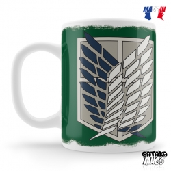 "Mug Attack on Titan© ""Blazon Team"" - L'Attaque des Titans"