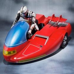 Space Sheriff Gavan X-Or + Cyberian Roller Sky - S.H. Figuarts