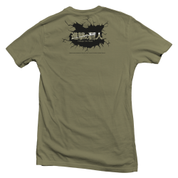 "T shirt officiel Attack on Titan ""Breaking the Wall"""