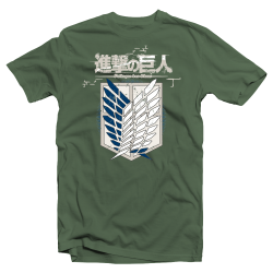 "T shirt Attack on Titan ""Shingeki no Kyojin"""