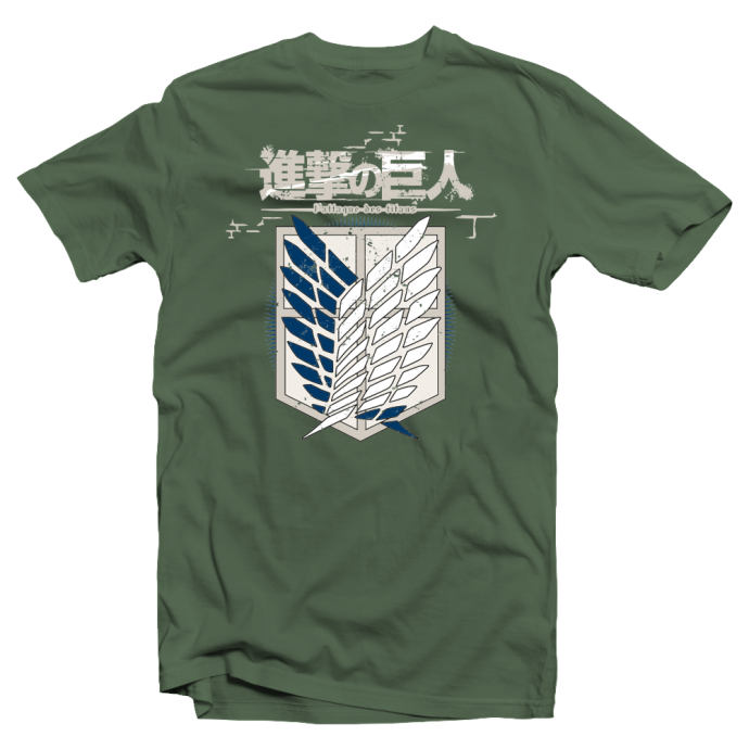 "T-shirt manga Attack on Titan ""Shingeki no Kyojin"""