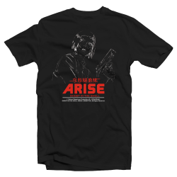 T-SHIRT MOTOKO-LINE - ARISE - GHOST IN THE SHELL