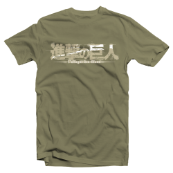 "T-shirt manga Attack on Titan ""Bataillon"""