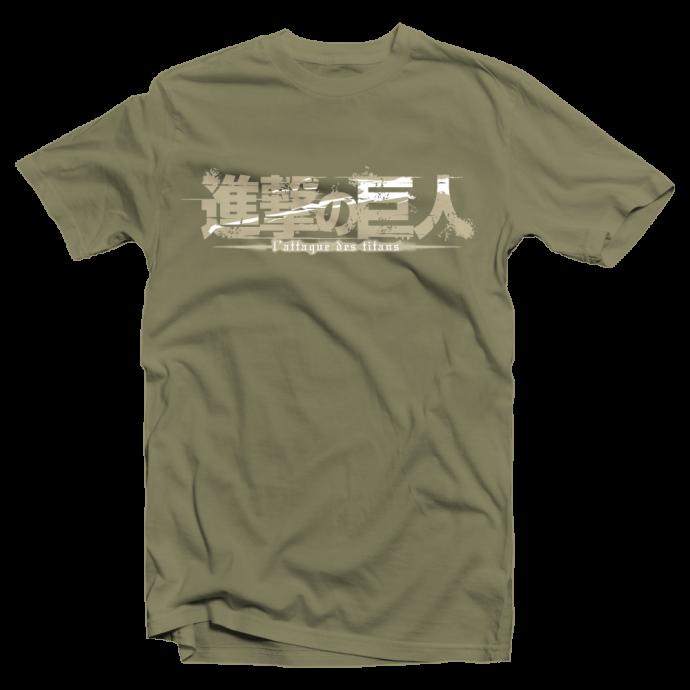 "Tshirt manga Attack on Titan ""Emblème du Bataillon"""