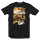 "T-shirt manga Attack on Titan ""Crew Fight"""