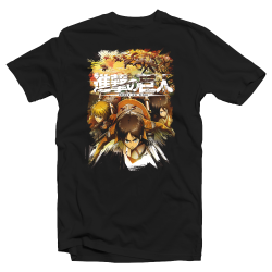"T-shirt Attack on Titan ""Attaque de Bataillon"""