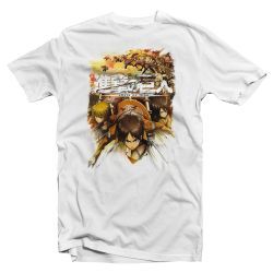 "T-shirt Attack on Titan ""Bataillon Attaque"""