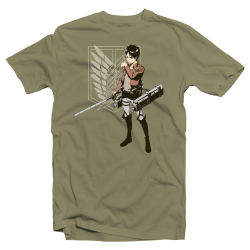 "Tshirt manga Attack on Titan ""Eren Jaeger"""