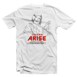"Tshirt Ghost in the Shell Arise ""Motoko Lines"""