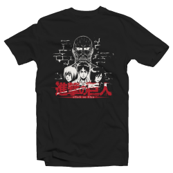 "T-shirt manga Attack on Titan ""Titan Face"""