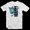 "T shirt manga Fairy Tail ""Happy"""
