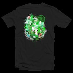 T-shirt Parodie Sylvains Princesse Mononoké