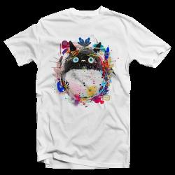 "T-shirt parodie Totoro ""Toneko"""