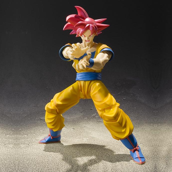 Dragon Ball Super Super Saiyan God Son Goku ~ S.H.Figuarts