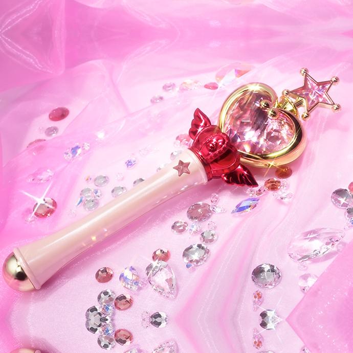 Pink Moon Stick Sailor Moon Proplica