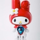 Hello Kitty My Melody Robot Chogokin