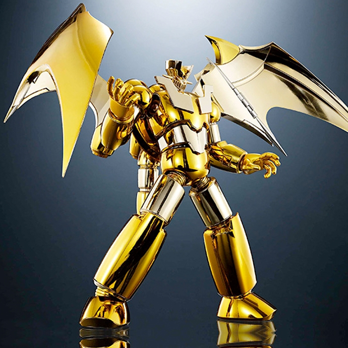 Shin Mazinger Z Gold Version - Super Robot Chogokin