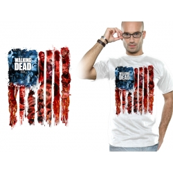 T SHIRT Walker-Flag - The walking dead