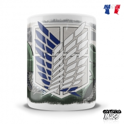 "Mug Attack on Titan ""Scouts Alliance"""