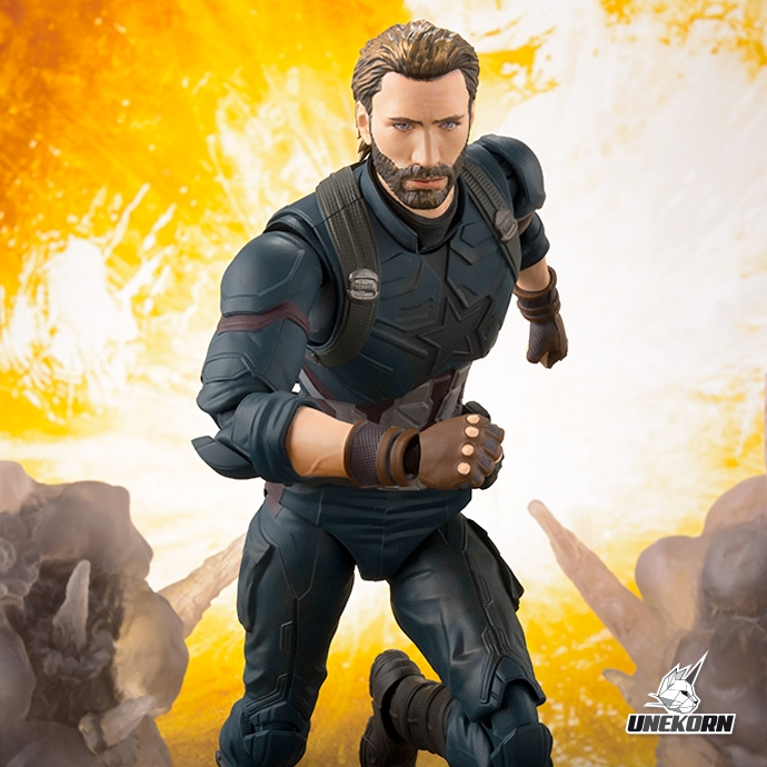 Captain America Avengers Infinity War S.H.Figuarts