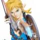 Zelda Breath of the Wild Link - First 4 Figures