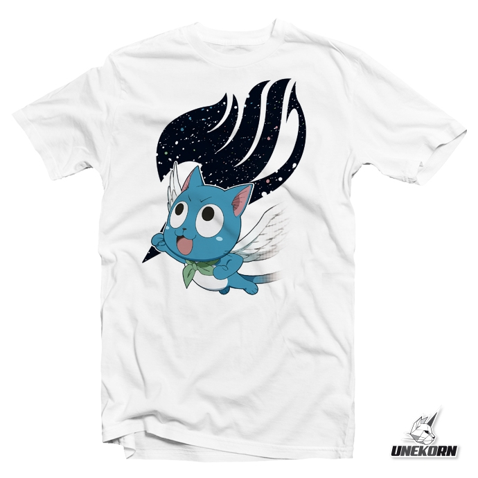 "T shirt Fairy Tail ""Super Happy"""