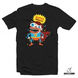 """T-shirt """"Super Maniac"""" par SKWAK - Nekowear"""