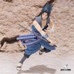 Naruto Sasuke Uchiha Battle ~ S.H.Figuarts
