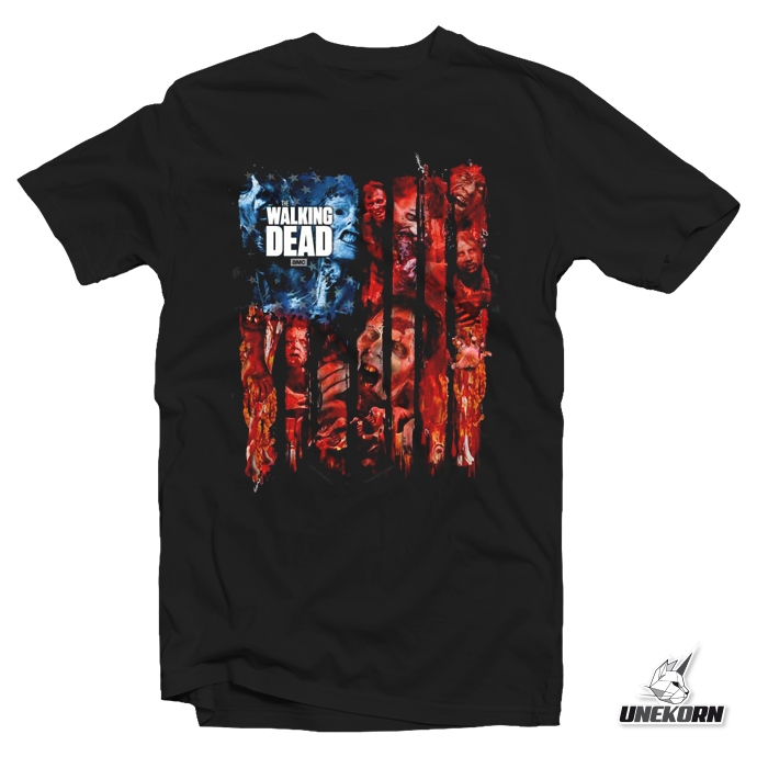 T-shirt The Walking Dead by Nekowear