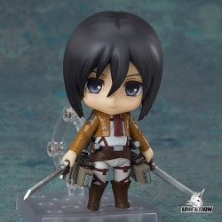 Figurine Attack on Titan Mikasa Ackerman - Nendoroid