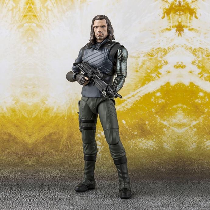Avengers Infinity War Bucky Tamashii Effect Impact - S.H.Figuarts