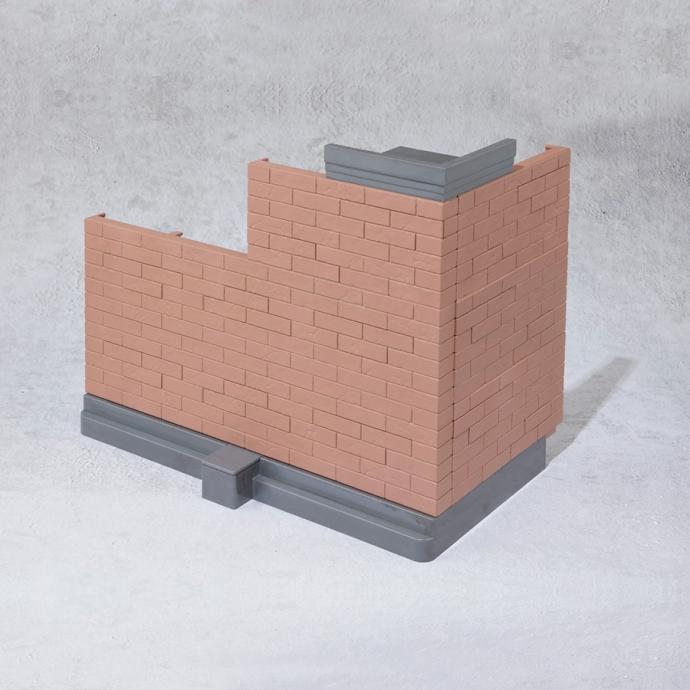 Brick Wall Brown Ver. - Tamashii Option Bandai Spirits