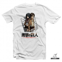 "T-shirt Attack on Titan ""Squadron"""