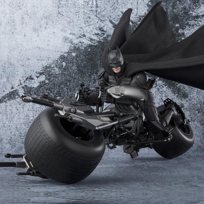 Batman The Dark Knight - Batpod - S.H.Figuarts