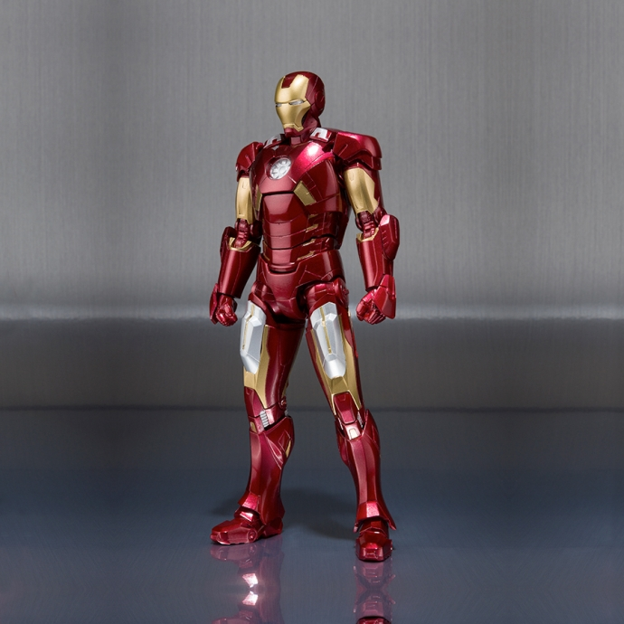 Nouveau Bandai Tamashii S.H Figuarts Avengers Movie Iron Man Mark VII 7-US Vendeur