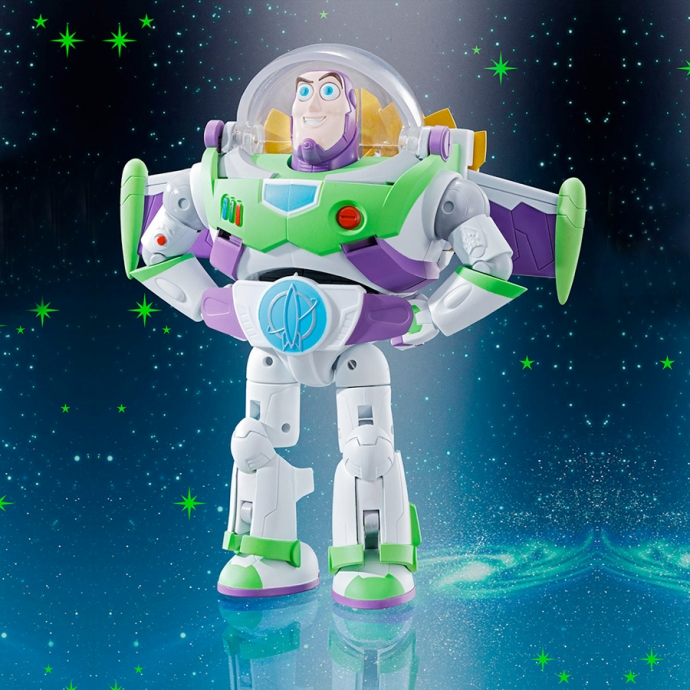 Toy Story - Buzz Space Ranger - Chogokin Bandai