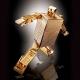 Golden Warrior Gold Lightan - GX-32R 24K Gold Ver - Soul of Chogokin