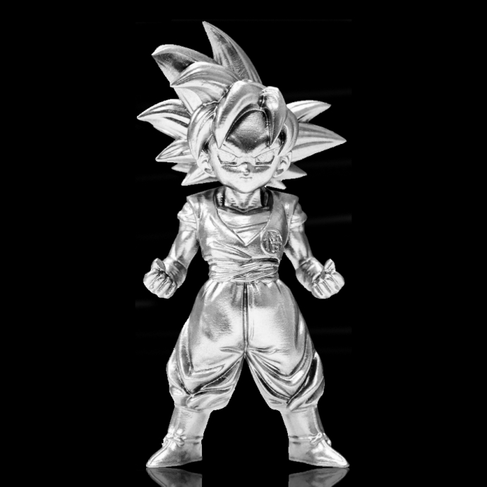 Dragon Ball Z - Super Saiyan God Son Gokou - Absolute Chogokin