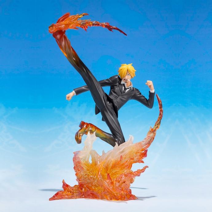 Figurine Bandai One Piece Sanji Jambe Premier Hachis